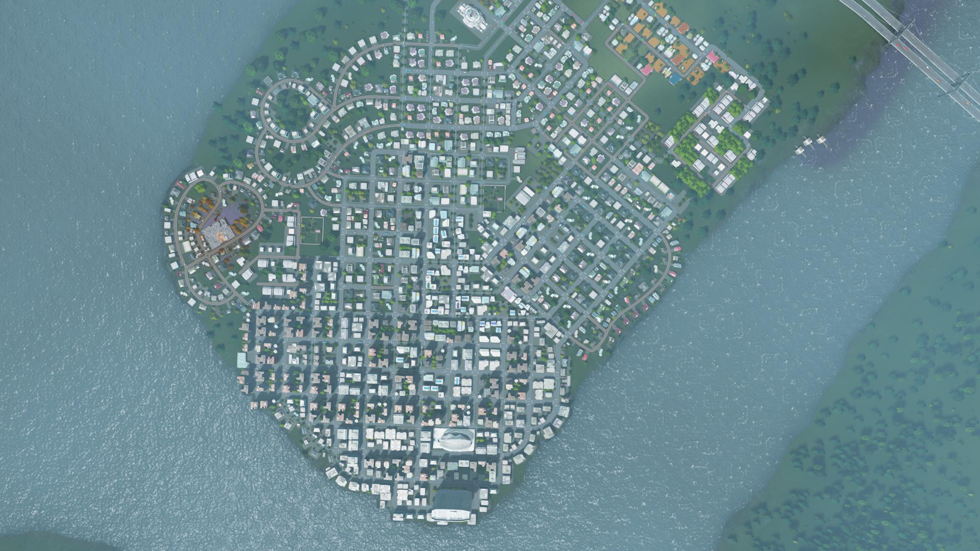 La ridente cittadina di Macon City, nuova residenza di giupmat.